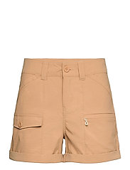 W MARIDALEN SHORTS - ICED COFFEE