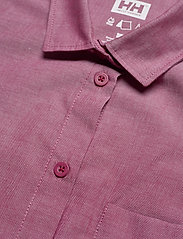Helly Hansen - W HUK SS SHIRT - overhemden met korte mouwen - plum - 2