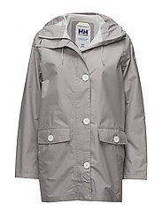 W ELEMENTS RAINCOAT - 820 SILVER GREY