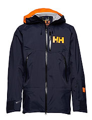 SOGN SHELL JACKET - NAVY