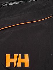 Helly Hansen - SOGN BIB SHELL PANT - skidbyxor - 991 black - 5