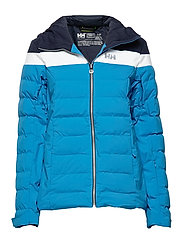 W IMPERIAL PUFFY JACKET - BLUEBELL