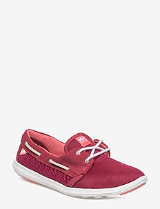 W LILLESAND - loafers - 183 persian red / plum / shell