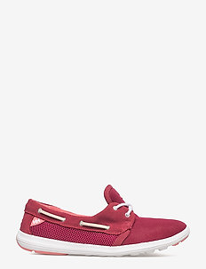 W LILLESAND - loaferit - 183 persian red / plum / shell