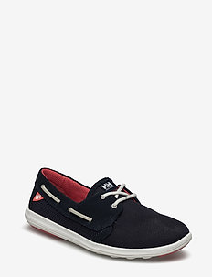 W LILLESAND - loafers - 597 navy / cayenne / off white