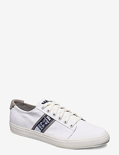 SALT FLAG F-1 - low tops - white / evening blue / new