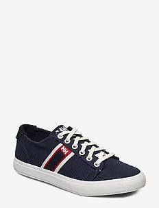 W SALT FLAG F-1 - low top sneakers - navy / off white / alert r