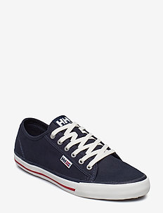 FJORD CANVAS SHOE V2 - low tops - navy/red/off white