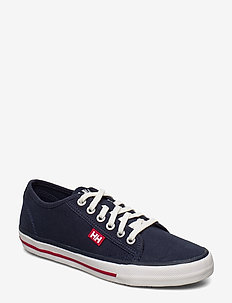 W FJORD CANVAS SHOE V2 - low top sneakers - navy/red/off white