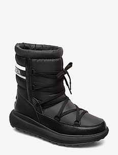 W ISOLABELLA COURT - platta ankelboots - black/off white