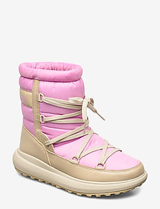 W ISOLABELLA COURT HERITAGE - hiking/walking shoes - aurora pink / hh khaki / c