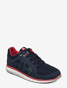 W  AHIGA V4 HYDROPOWER - low top sneakers - navy / off white / cayenne