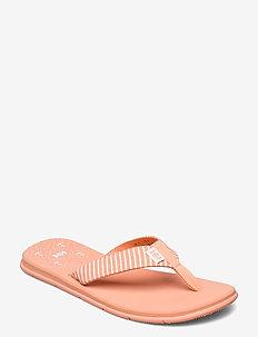 W IRIS SANDAL - sport schoenen - melon / off white