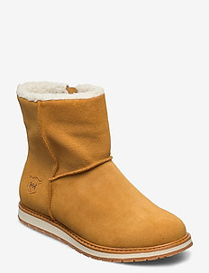W ANNABELLE BOOT - platta ankelboots - new wheat / natura / light