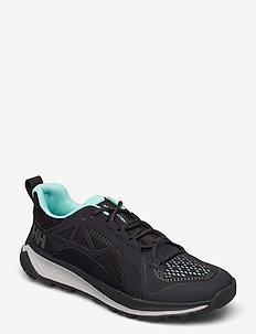 W GOBI APS - hiking shoes - 990 black / blue tint / grey f