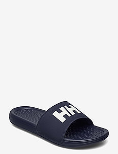 H/H SLIDE - pool sliders - 599 dark sapphire / off white