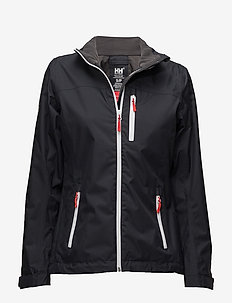 W CREW MIDLAYER JACKET - navy