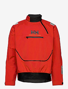 HP FOIL SMOCK TOP - outdoor- & regenjacken - alert red