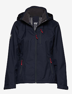 W CREW HOODED JACKET - jakker og regnjakker - 598 navy