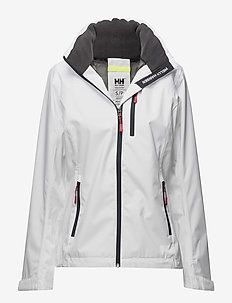 W CREW HOODED JACKET - outdoor & rain jackets - white