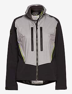 W AEGIR H2FLOW JACKET - outdoor & rain jackets - silver grey