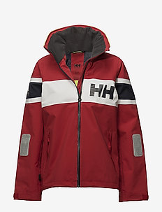W SALT FLAG JACKET - outdoor & rain jackets - 162 red