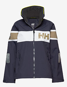 W SALT FLAG JACKET - GRAPHITE BLUE