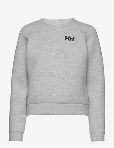 W HP OCEAN SWT CREW NECK - sweatshirts - grey melange