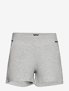 W HP OCEAN SWT SHORTS - outdoor-shorts - grey melange