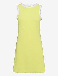 W CODE ZERO DRESS - sportieve jurken - sunny lime
