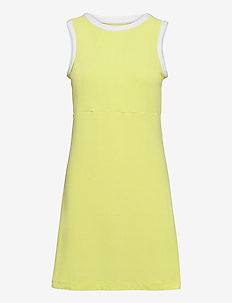 W CODE ZERO DRESS - sports dresses - sunny lime