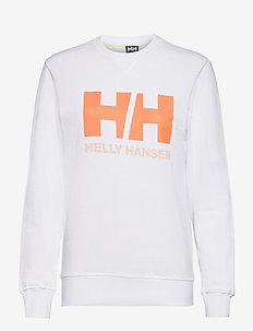 W HH LOGO CREW SWEAT - sweatshirts - white
