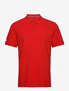 CREW POLO - ALERT RED