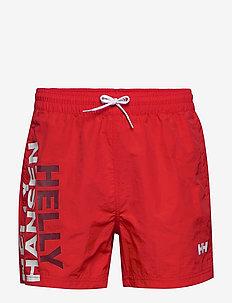 CASCAIS TRUNK - swim shorts - alert red