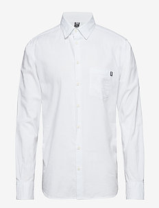 CREW CLUB LS SHIRT - WHITE