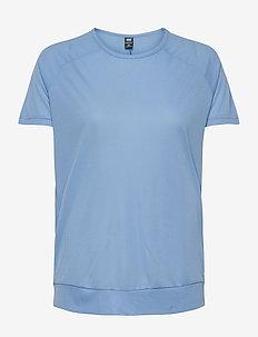 W HP RACING T-SHIRT - t-shirts - cornflower