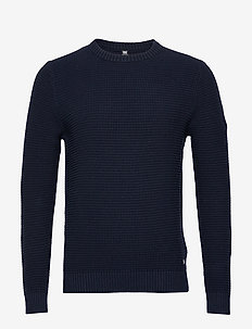 FJORD SWEATER - tricots basiques - navy
