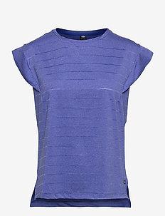 W SIREN SPRING T-SHIRT - t-shirts - royal blue