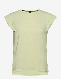 W SIREN SPRING T-SHIRT - t-shirts - sunny lime