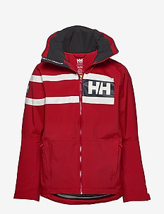 SALT POWER JACKET - outdoor & rain jackets - red