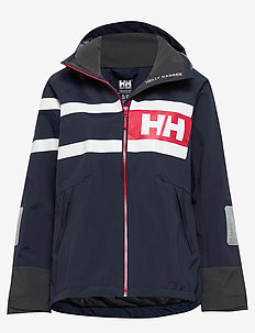 W SALT POWER JACKET - outdoor & rain jackets - navy