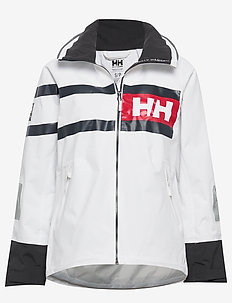 W SALT POWER JACKET - outdoor & rain jackets - white