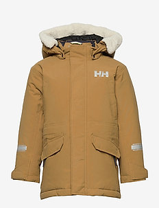 K ISFJORD DOWN PARKA - insulated jackets - brunette brown