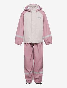 K BERGEN PU RAINSET - overall - 067 pink ash