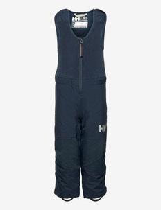 K VERTICAL INS BIB PANT - skibroeken - 598 navy