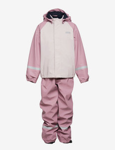 K BERGEN FLEECE PU RAINSET - overall - 067 pink ash