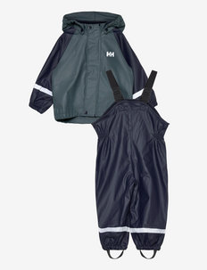 K BERGEN FLEECE PU RAINSET - sets & suits - 597 navy
