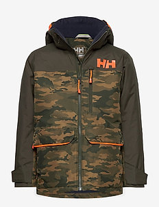 JR TORNADO JACKET - winter jacket - olive aop