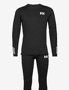 HH LIFA ACTIVE SET - yläosat - black