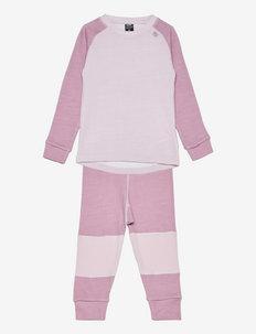 K HH LIFA MERINO SET - thermo ondergoedsets - 067 pink ash